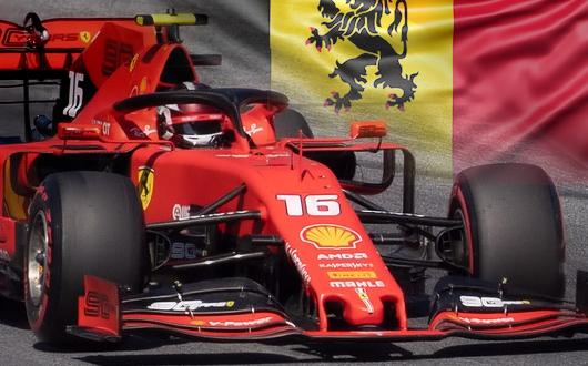 Ferrari - Belgian Flag