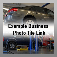 Business Section - Example Photo Tile Link
